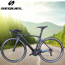 Carbon Bike Road Bike Carbon Fiber Frame complete bike 40mm Cycling Bicycle SHIMANO 22 Speed 4700 and 5800 Group Set Bicicleta(China)