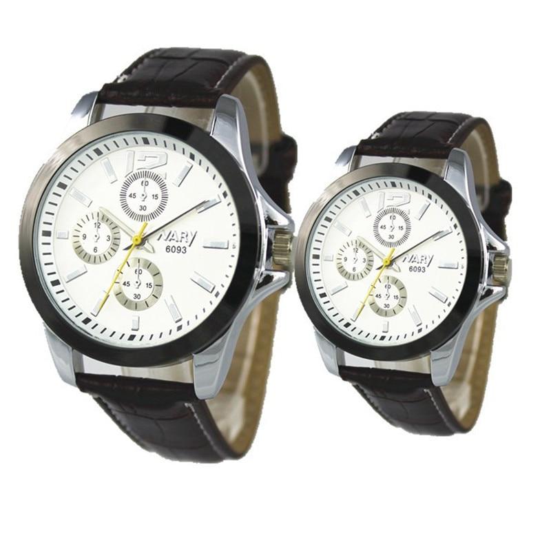 2016 NARY Famous Brand Quartz Mens Watches Top Brand Luxury Couples Quartz-watch Clock Leather Strap Women Wristwatch Relogio<br>