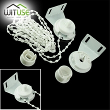 WITUSE Roller Blind Shade Cluth Bracket Bead Chain 28mm Kit High Quality Shade Repair Fixing Parts(China)