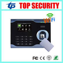 Good quality WIFI TCP/IP communication fingerprint and RFID card time attendance system 3 inch linux system time recorder U160