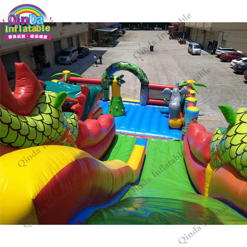 inflatable bounce obstacle adult81