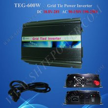 600w grid tie inverter 600 watts tie grid solar inverter dc 10.8-28v to ac 100v inverter solar(China)