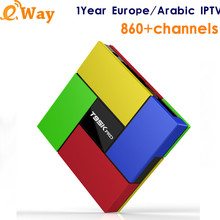 Android IPTV Box T95K PRO Ip tv Set Top Box Europe Arabic IPTV Subscription DE UK Canl Plus French Germany IPTV Channels TV Box