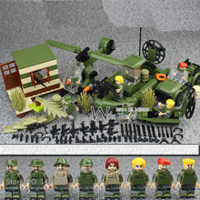 4 in 1 MILITARY Army SWAT Soldier Car Helicopter Navy Seals Team Marines Building Blocks Bricks Figures Toys Gifts Boys Children