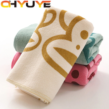 2017 new Microfiber towel Soft 30*70cm dry hair towel 300G absorbent towel Face Hand Car Cloth Towel House Cleaning Wholesale