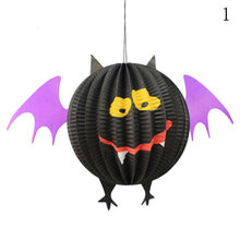 Halloween Decoration Hanging Bat Spider Ghost Skull Halloween Props for Haunted House Bar KTV Yard Scary Lattern JK1156