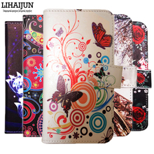LIHAIJUN Newest Cartoon Wallet Case for DEXP Ixion X147 Puzzle 4.7 inch PU Leather Flip Cover Magnetic Mix Style Cases(China)