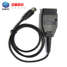 Top Rated for Fiat KM tool OBD2 OBD 2 Mileage Correction Diagnostic cable adapter Tool For Fiat with high quality