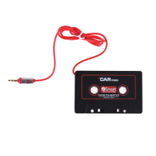 Newest Car Cassette MP3 Player Tape Adapter Cassette Tape Converter For iPhone For iPod AUX Cable CD Player 3.5mm Jack Plug