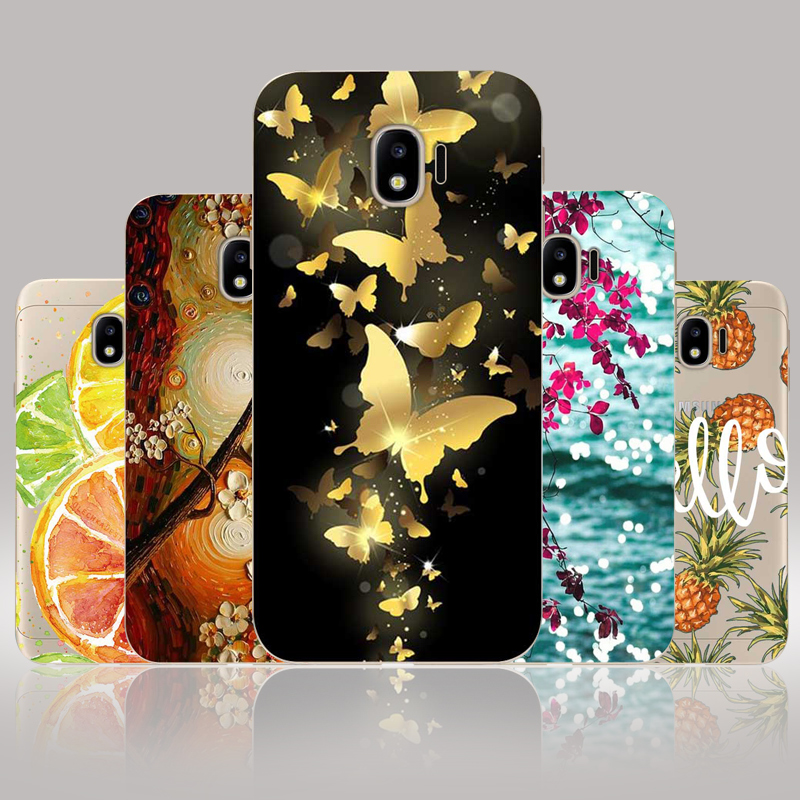 "CROWNPRO 5.0"" Soft TPU sFOR Samsung Galaxy J2 Pro 2018 Case Cover Phone Back Cute Fundas FOR Capa Samsung J2 Pro 2018 J250F Case"