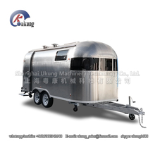 UKUNG brand AST-210 model customized stainless steel food trailer(China)