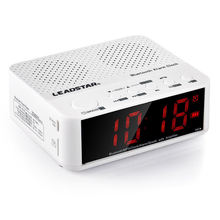 Portable Wireless Bluetooth Speaker Alarm Clock With Hub LED for Xiaomi ipod iphone6 ipad mp3 #80502