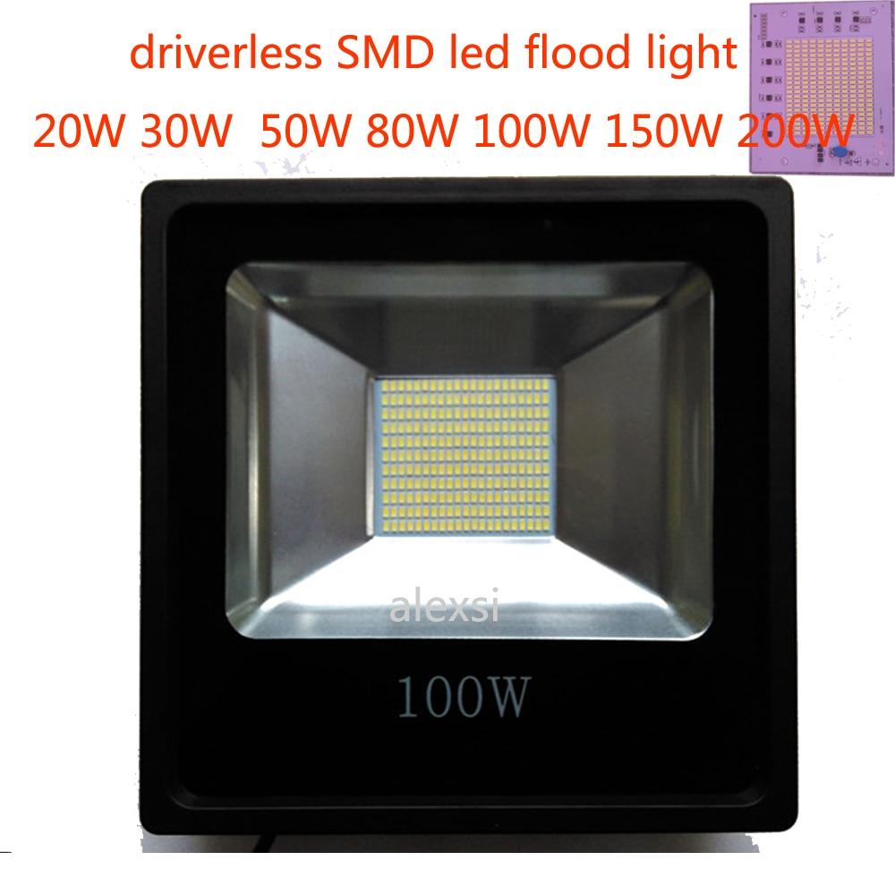 Led Flood Light 220V 200W/150W/100W/60W/30W/15W Floodlight Watts Led Spotlight Projector Outdoor Security Waterproof IP65<br><br>Aliexpress