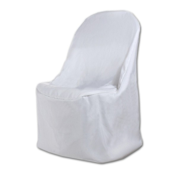 50pcs Premium Folding Poly Chair Covers For Wedding Party Decorations Metal