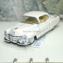Free Shipping (5pcs/pack) Brand New Classic 1/43 Scale Vintage 1953 Cadillac series 62 Diecast Metal Pull Back Car Model Toy