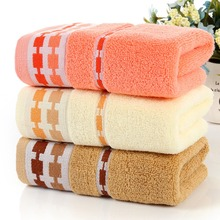 Face Hair Towel Bath Thick Absorbent Soft Cotton Hand Towel Travel Beach Towels Lovely Solid Washcloth(China)