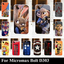 Case For Micromax D303 Colorful Printing Drawing Transparent Plastic Phone Cover For Micromax D303 tpu Soft mobile Phone Cases