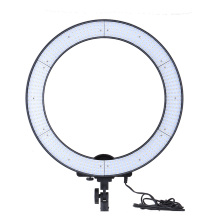 EMS Free Andoer LA-650D 600LEDs Studio Ring Light 40W 5500K Photographic Lighting Stepless LED Video Light With Soft Cloth Bag