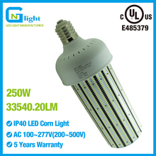 1000W HID/MH LED Retrofit light bulbs 250W high bay fixture replacement E39 base warehouse/gym/stadium light