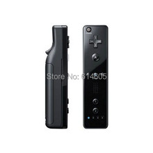 Black 2 in 1 Remote Controller Built in Motion Plus + Nunchuck for Nintendo Wii Game