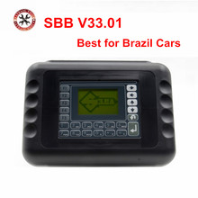 Top Sale New Sbb Key Programmer Sbb V33.01 Multi-language Auto Car Sbb Key Programmer Sbb Key Transponder Free Shipping(China)