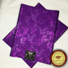 2016 New Pattern Sego Gele&Ipele African Headtie,Super Quality Purple Sego Headtie,Factory Wholesale Price Nigerian Head wrapper(China)