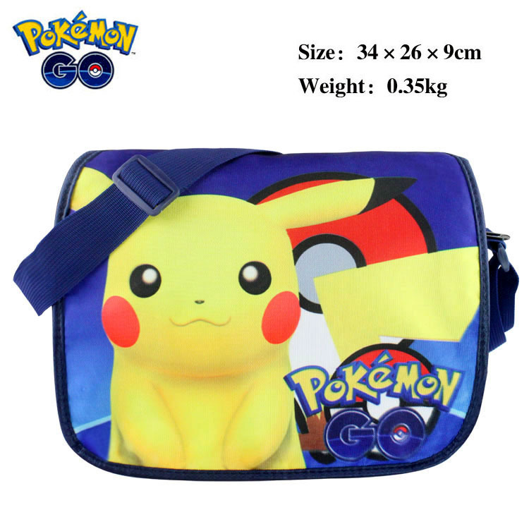 Pokemon Pikachu Insulated Cooler Snack Lunch Shoulder School Bag tote<br><br>Aliexpress