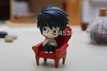 Cute Death Note Anime L #17 Nendoroid PVC Action Figure Colletion Model Toy Doll(China)