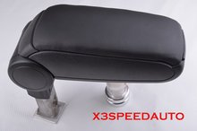 High Quality Black Leather Center Console Armrest For AUDI 02 03 04 05 06 A4 S4,Not Fit Cabriolet