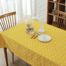 2017 New Arrival Nordic Simple Geometric Table Cloth High Quality Tablecloth Table Cover manteles para mesa Free Shipping(China)