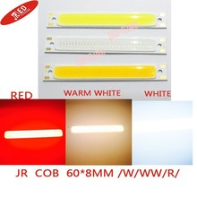 5PCS Red /warm white/white/Blue Color LED COB Source Bar chip diodes2.5W / 5W LED COB strip low voltage 3V For DIY light(China)