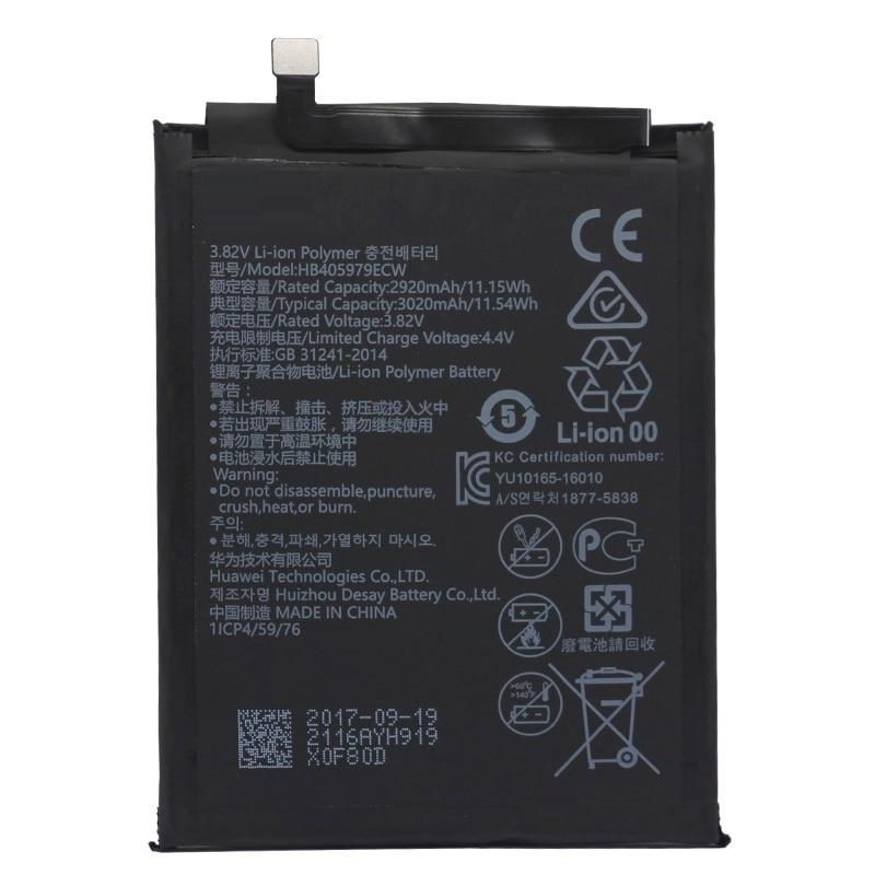 Mobile Phone Parts Efficient Hb366179ecw Hua Wei Replacement Phone Battery For Huawei Nova 2 Caz-al10 Caz-tl00 2950mah Mobile Phone Batteries