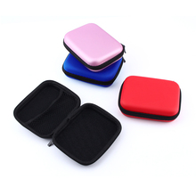 Hand Carry Case Protector Cover Pouch Bags For External HDD Hard Disk Drive Earphone Headphone Cable Universal Free Shipping