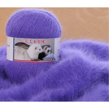 100g/2 Ball Mink Knitting Yarn Luxury Fur Hairy Cashmere Yarn For Hand Kintting marifetli Baby Warm Soft Weave laine a tricoter