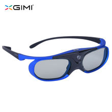5 PCS XGIMI Shutter 3D Glasses Hi-Quality Virtual Reality LCD Glass for xgimi z4 aurora H1 High Luminousness Internal Battery