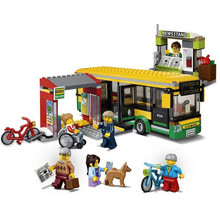 Buy LEPIN City Town Bus Station Building Blocks Sets Kits Bricks Kids Classic Model Toys Children Marvel Compatible Legoings for $19.99 in AliExpress store