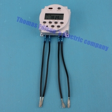 Digital time switching time controller CN101A DHC15 THC-101A  time control switch Timer  220V AC 8A TO 16A with 4 pieces wire
