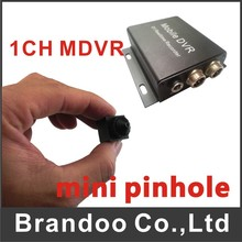 Small Size Mini Pinhole 1 Channel CAR DVR Kit For Russia Mexico(China)