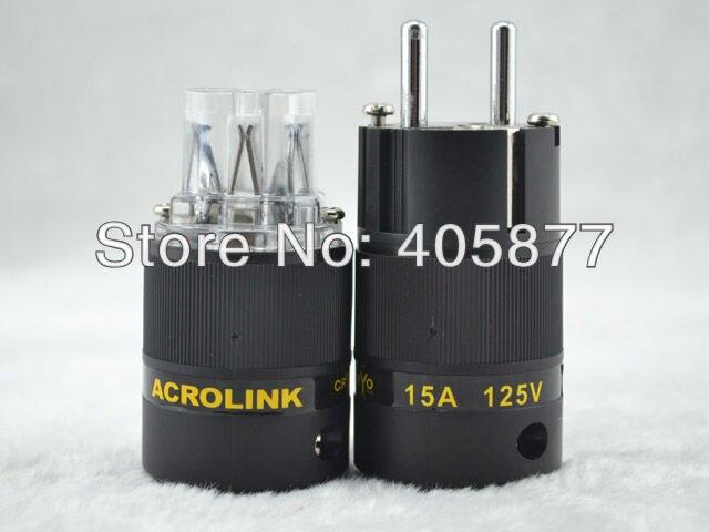 Acrolink FP-03Eu CRYO Audio  Power Plug connectors power Adapter+IEC plug<br><br>Aliexpress