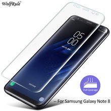 For Film Samsung Galaxy Note 8 Screen Protector Film For Samsung Galaxy Note 8 Glass Soft TPU Film For Samsung Note 8 WolfRule(China)