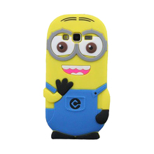 3D Minions Silicone Case Cover For Samsung Galaxy S7 S6 S5 S4 Edge Plus Note 5 J1 J3 J5 J7 A3 A5 A7 2016 Grand Prime G530h