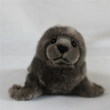 Plush  Marine Animal Toy Simulation  Gray Seal Doll Children Stuffed Toys Holiday Gifts
