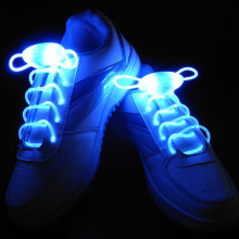 1 Pair 80CM Led Light Glow Shoelace Glow Stick Flashing Colored Neon Shoelace Luminous Laces Party Worldwide sale