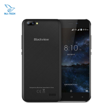 in stock Blackview A7 Dual Rear Cameras 5.0 inch HD MTK6580A Quad Core Android 7.0 1GB RAM 8GB ROM 5MP Mobile Phone(China)