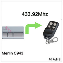 Compatible with Merlin C940 rolling code remote 433.92mhz(China)