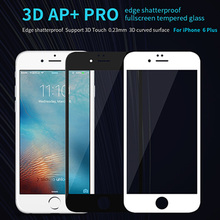 For iPhone 6 6S Plus 3D Touch Tempered Glass Original Nillkin AP+ Pro Anti Scratch Oleophobic Coating Shatterproof Screen Film