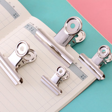 binder clip office paper stainless steel white metal clips sizes  29mm 36mm 50mm 61mm office & school supplies stationery