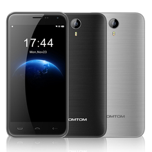 Free Gifts HOMTOM HT3 MTK6580 5 inch1280x720 HD Quad Core Android 5.1 Mobile Cell Phone 1GB RAM 8GB ROM 8MP Cam Wifi GPS WCDMA