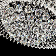 1PC New 30*35mm Vintage Chandelier Ball Drop Clear Crystal Glass Lamp Pendant Loose Spacer Bead Home Decoration Ornaments