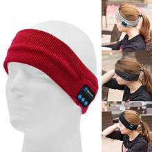 Vococal Music Sport Wireless Bluetooth Hands Free Phone Smart Knit Hair Band Headband Headset for Cellphone Tablet Computer